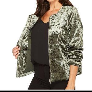 Sanctuary NWT crushed velvet jacket large